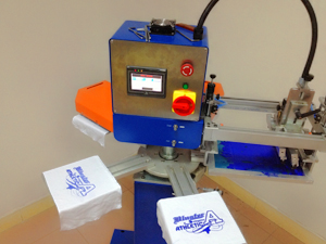 T shirt Rotary Screen Printing Machine