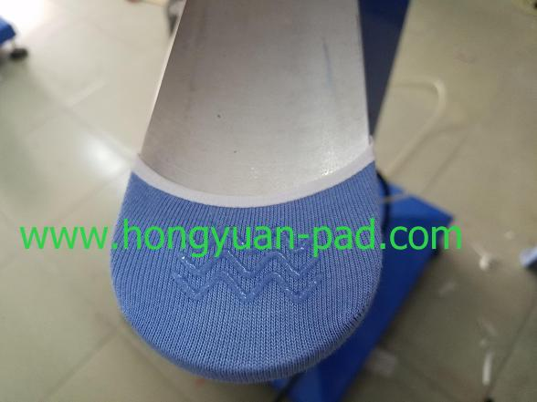 anti-slip nonslip sock printing sample