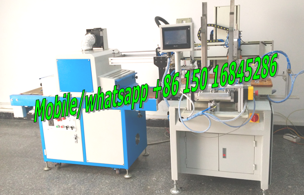 plastic scale screen printing machine