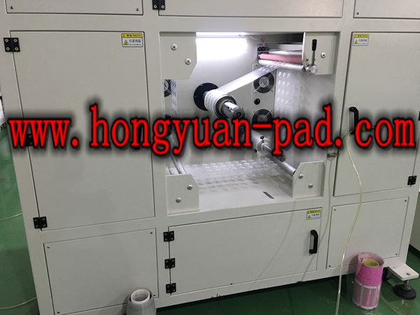 1 color roll to roll screen printing machine