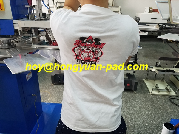garment tagless screen printer