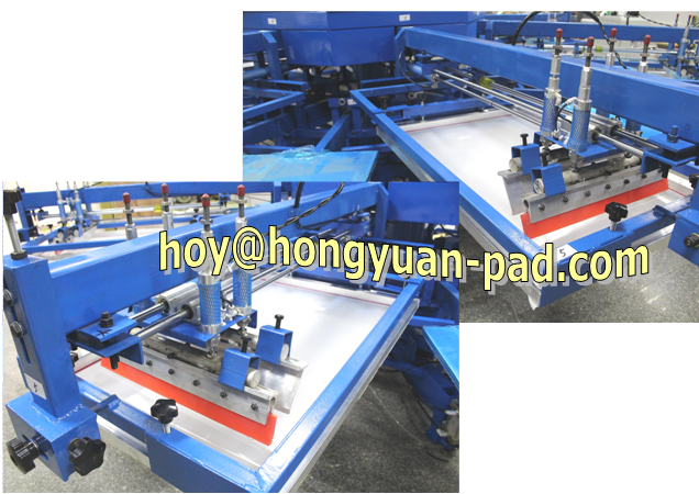 t shrit rotary screen printing machine