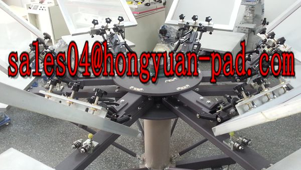 t-shirt screen printing machine with micro registration