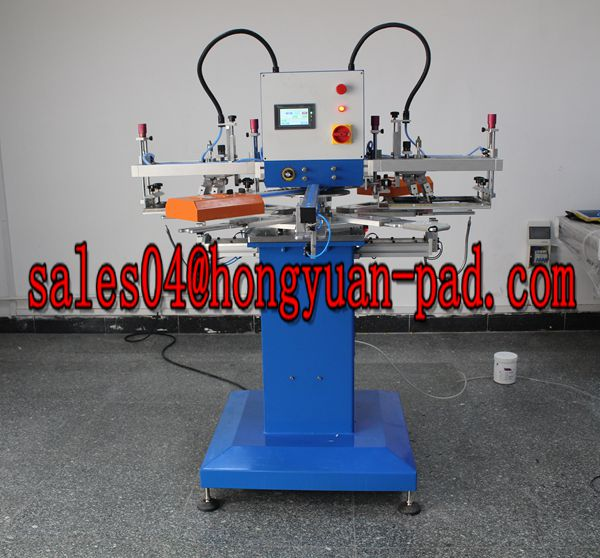 can cooler screen printing machine