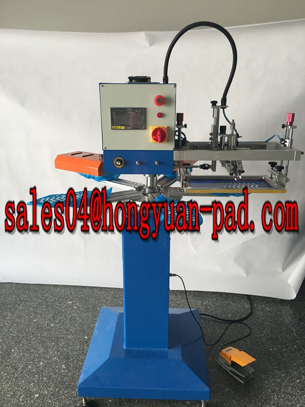 rapid screen printing machine
