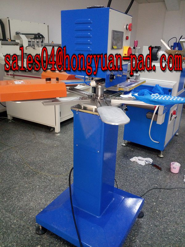 screen printing machine for shoe cover