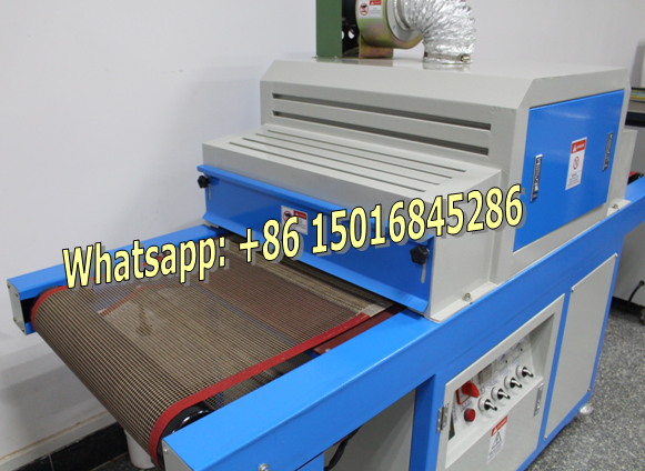 screen printing UV curing machine