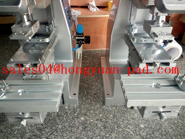 closed ink cup pad printing machine