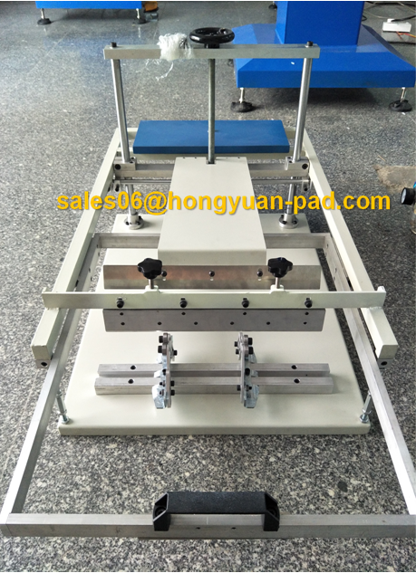 plastic bottle single color cylinder screen printing machine