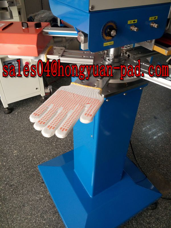 non slip gloves screen printing machine