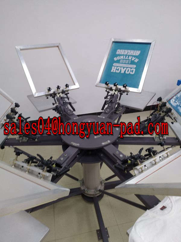 screen printing machine with micro register