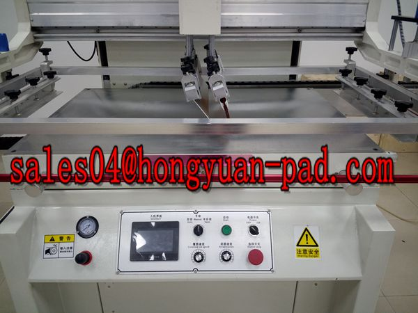 vacuum worktable screen printing machine