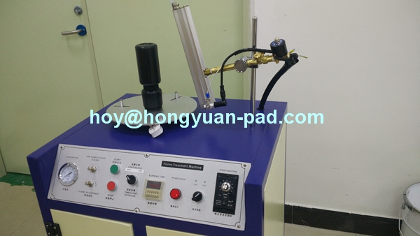 Plastic Bottle Flame Treating Machine, PE Bottle Flame Treatment