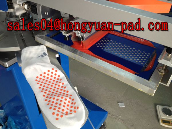 dotting sock screen printing machine