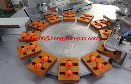 Automatic pad printing machine for pencial sharpener