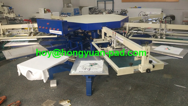 Automatic Rotary Screen Printing Machines