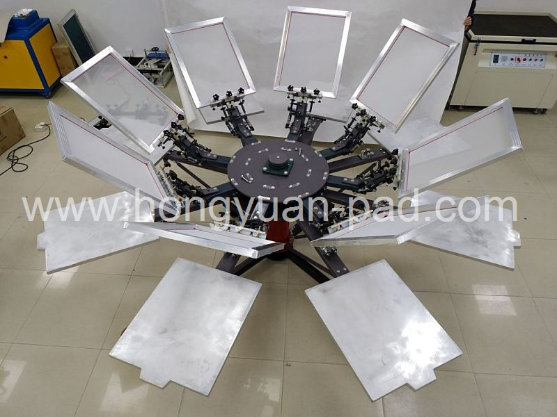 Rotary T shirt Screen Printing Machine