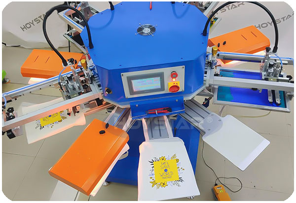 professional silk screen press