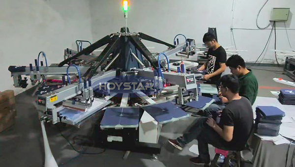 T-Shirt Screen Printing Machines