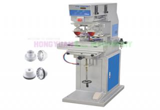 2 Color Closed Ink Cup Pad Printing Machine With Shuttle Worktable (GW-P2S-CP)