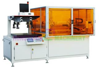Automatic image position optical glass screen printing machine(GW-JM-SZJ)