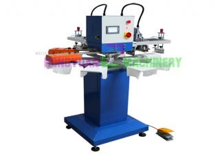 Rapid 2 Color Garment Tag/Label Screen Printing Machine(GW-200TRS)